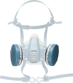 P3 R filter (white) for protective half mask 373500