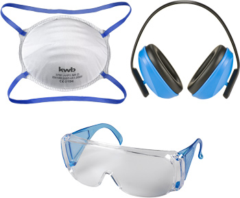 Safety set, 3-pieces
