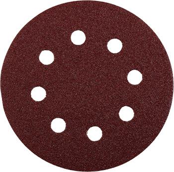 QUICK-STICK Schleifscheiben, HOLZ & METALL, Edelkorund, Ø 115 mm, gelocht