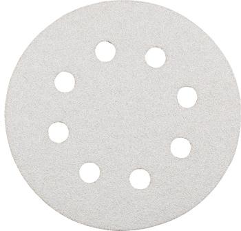QUICK-STICK Schleifscheiben, HOLZ & LACK, Silberschliff, Ø 125 mm, gelocht