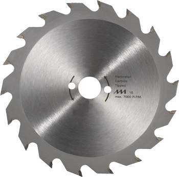 Kreissägeblatt für Handkreissägen ø 140 mm