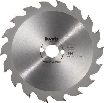 Circular saw blades for hand held circular saws Ø 127 up to Ø 230 mm