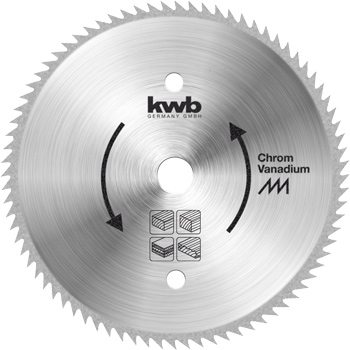 Kreissägeblatt für Handkreissägen ø 180 mm