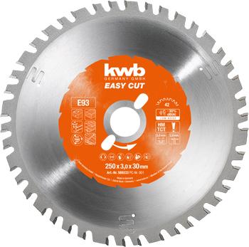 EASY-CUT Kreissägeblätter für Bau- und Tischkreissägen Ø 250 x 30 mm
