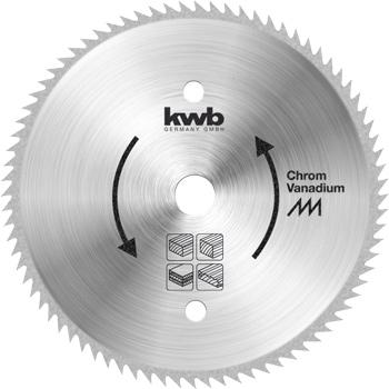 Kreissägeblatt für Bau- und Tischkreissägen ⌀ 300 mm