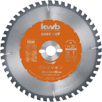 EASY-CUT Kreissägeblätter für Bau- und Tischkreissägen Ø 300 x 30 mm