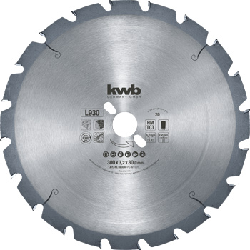 Nail resistant circular saw blades, Ø 300 up to 700 mm