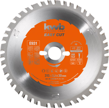 EASY-CUT Circular saw blades Ø 250 up to 400 mm