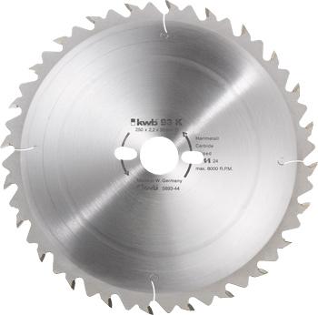 Kreissägeblatt für Bau- und Tischkreissägen ø 450 mm