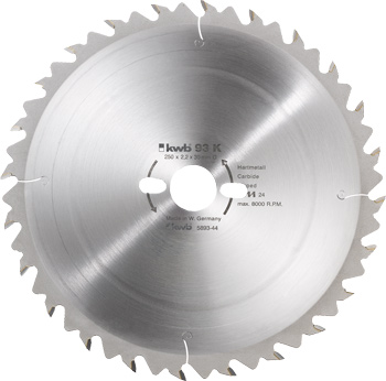 Kreissägeblatt für Bau- und Tischkreissägen ø 500 mm