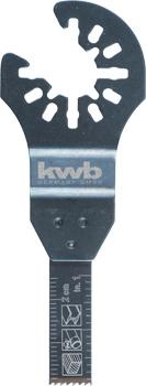 Universal-Tauchsägeblatt für Metall und Holz, Bi-Metall