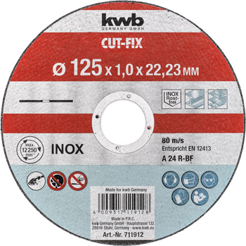 CUT-FIX® Cutting discs, extra thin, for metal