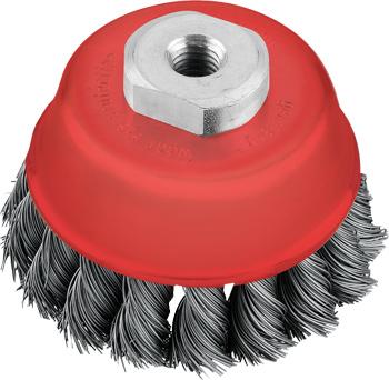 AGGRESSO-FLEX® Topfbürste, Stahldraht, gezopft