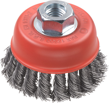 AGGRESSO-FLEX® Topfbürste, HSS Stahldraht, gezopft