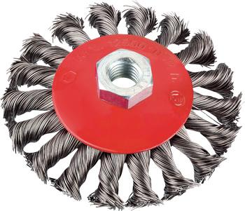 AGGRESSO-FLEX® Kegelbürste, Stahldraht, gezopft