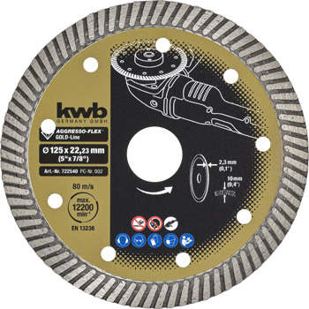AGGRESSO-FLEX® Gold-Line diamond cutting discs