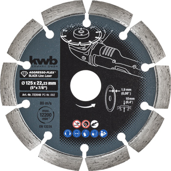 AGGRESSO-FLEX® Black-Line DIAMOND cutting discs