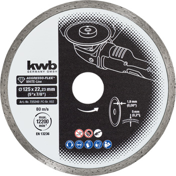 AGGRESSO-FLEX® White-Line DIAMOND cutting discs