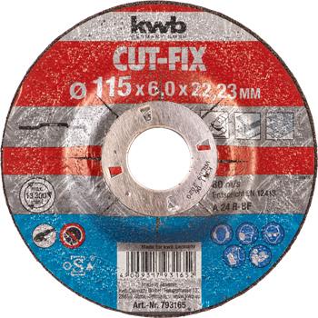 CUT-FIX® Schruppscheiben, Metallbearbeitung