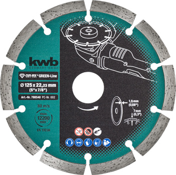 CUT-FIX® Green-Line diamond cutting discs