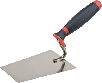 Bucket trowel, swan neck