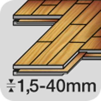 Stichsägeblätter Parkett, 1,5-40 mm