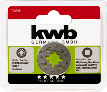 Universal adapter for Multi-Tool | kwb Germany GmbH