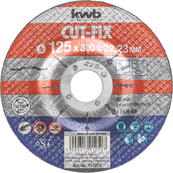 CUT-FIX® Cutting discs for metal | Angle grinder accessories | Power