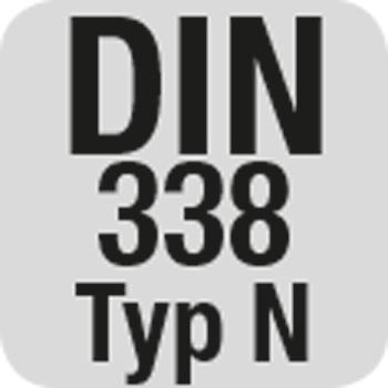 DIN 338 Typ N