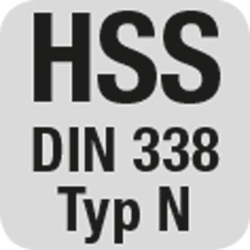 HSS DIN338 Typ N