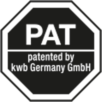 Patented by kwb Germany GmbH