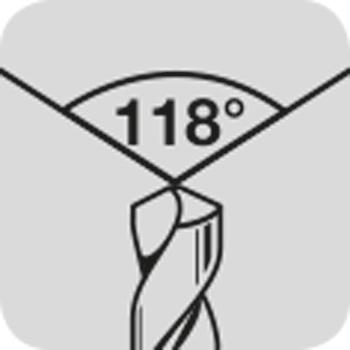 Spitze 118°