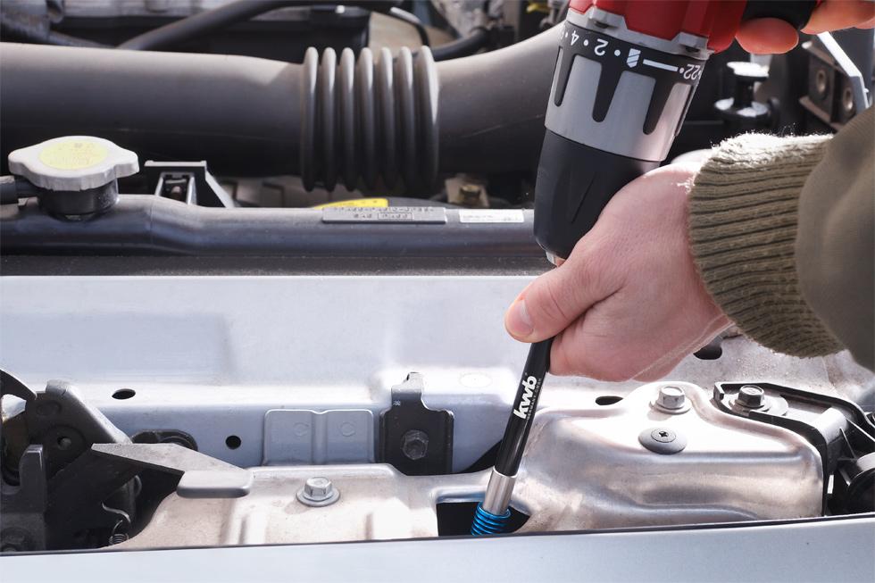 "extra lang KWB Quick Change Schnellwechsel-Bithalter 150 mm 1//4/"" E 6.3"