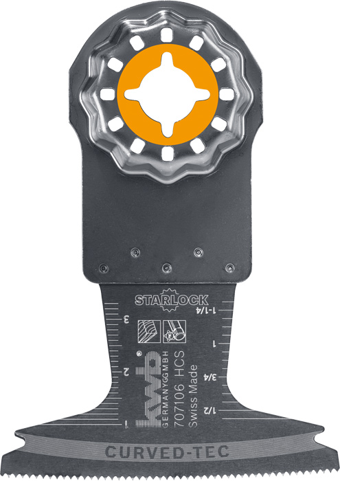 Plunge Cut Saw Blade Hcs Starlock Multi Tool