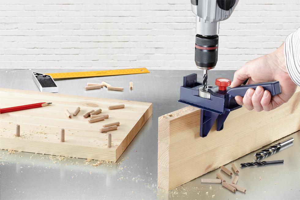 D belprofi calibro per spinatura tasselli di legno for Guida per spinatura
