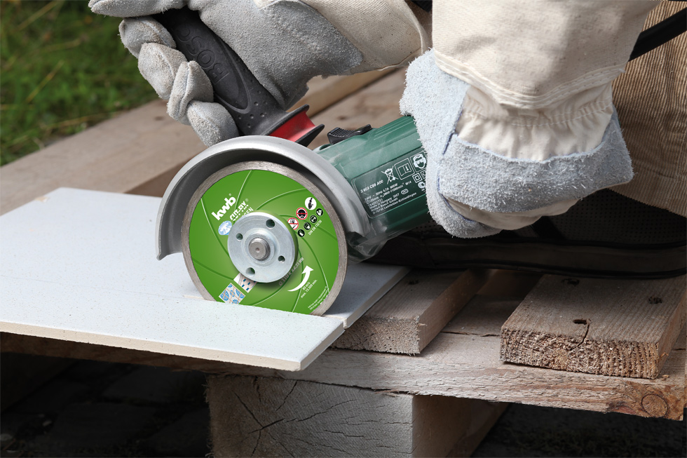Cut fix dischi da taglio per piastrelle diamant 110 mm accessori per smerigliatrici - Accessori per posa piastrelle ...